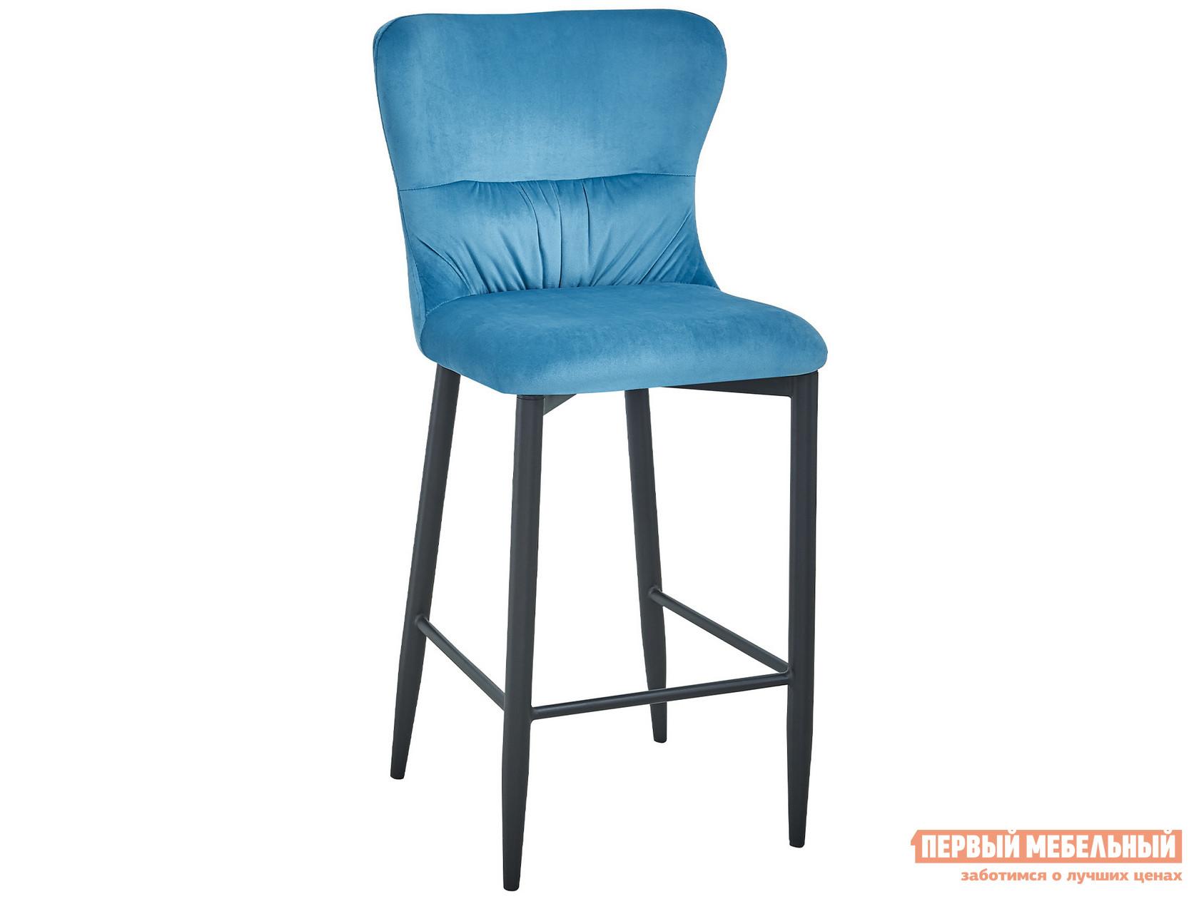 Барный стул  полубарный Лилиан MC151C VELVET HLR-59 Темно-бирюзовый, велюр, Stool Group 104776