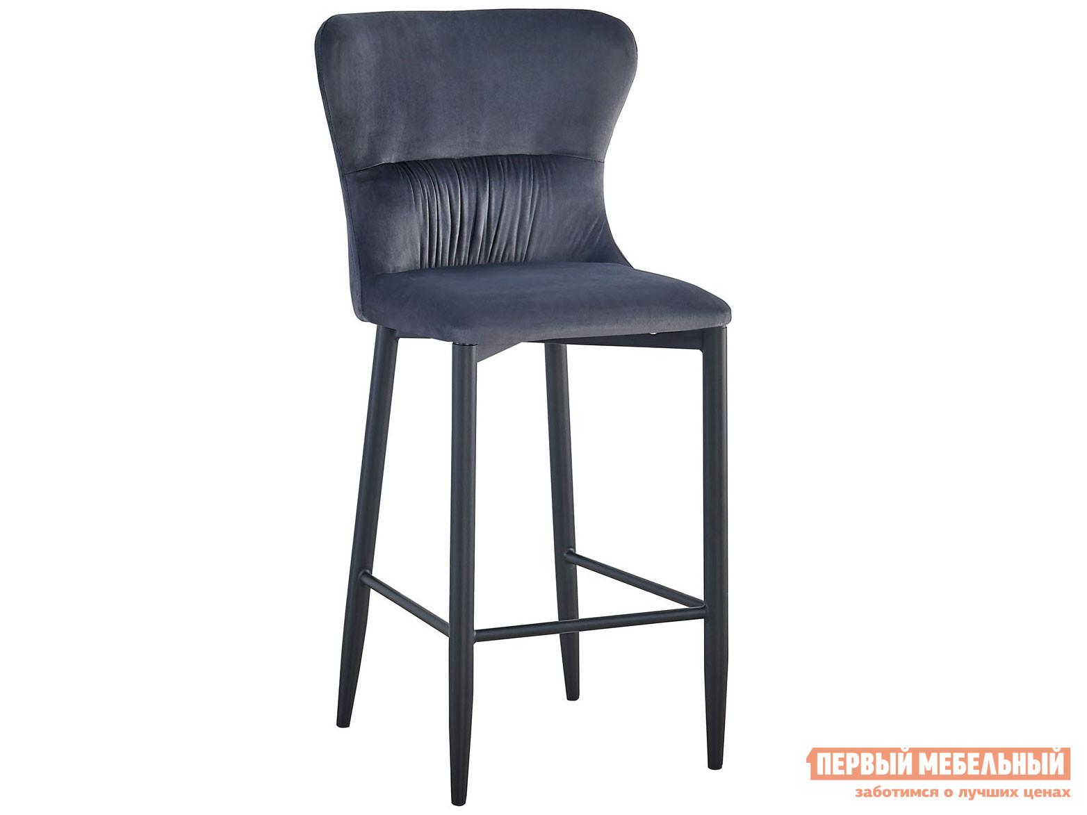 Барный стул  полубарный Лилиан MC151C VELVET Серый, велюр, Stool Group 116102