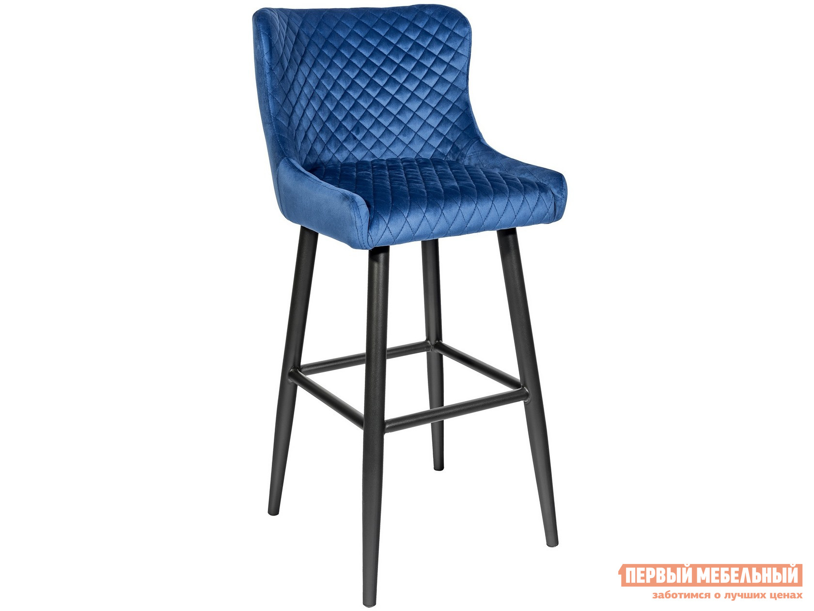 Барный стул  MC15B HLR-65 Королевский синий, велюр STOOL GROUP 85891