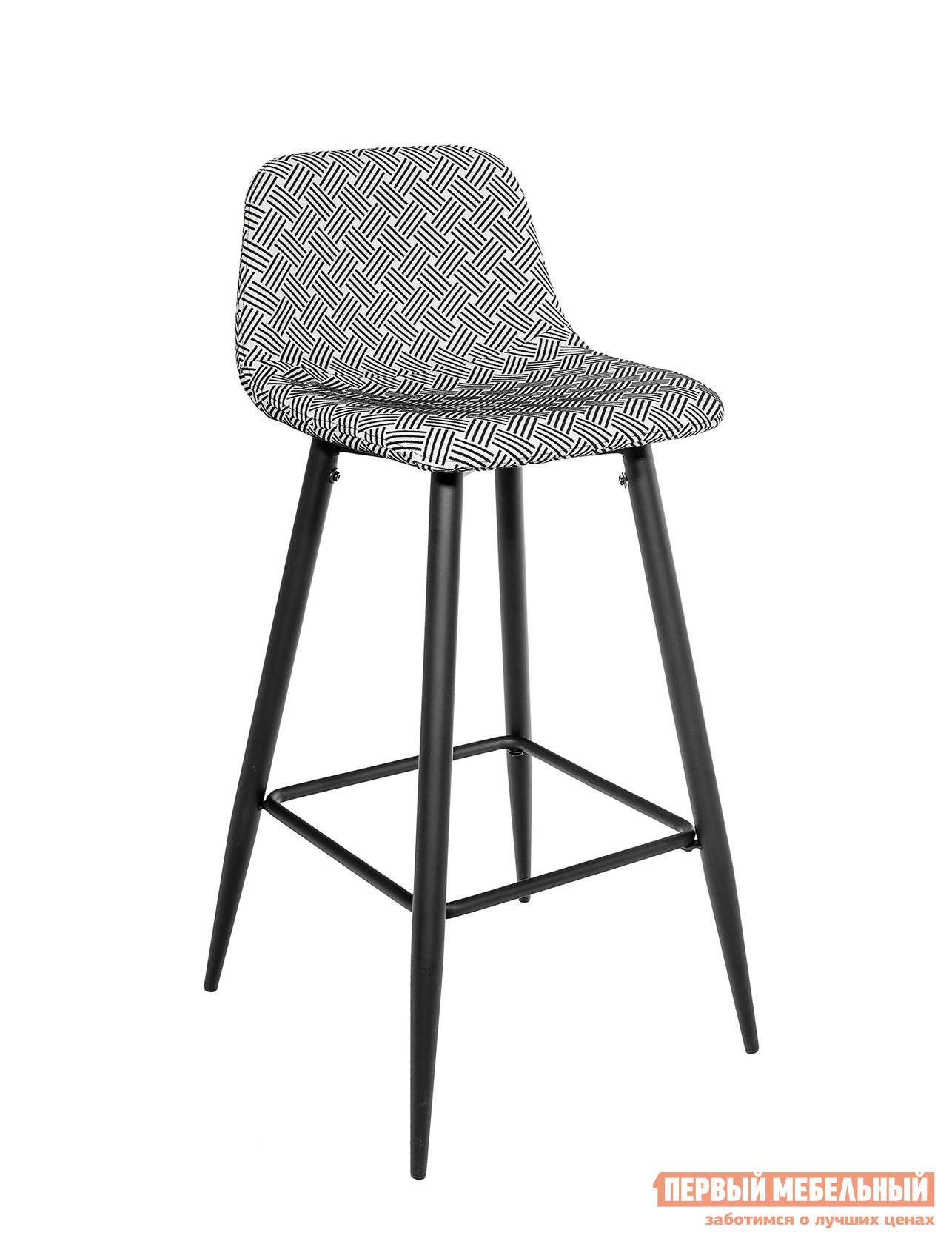 Барный стул STOOL GROUP Бартон Черно-белый принт от Купистол