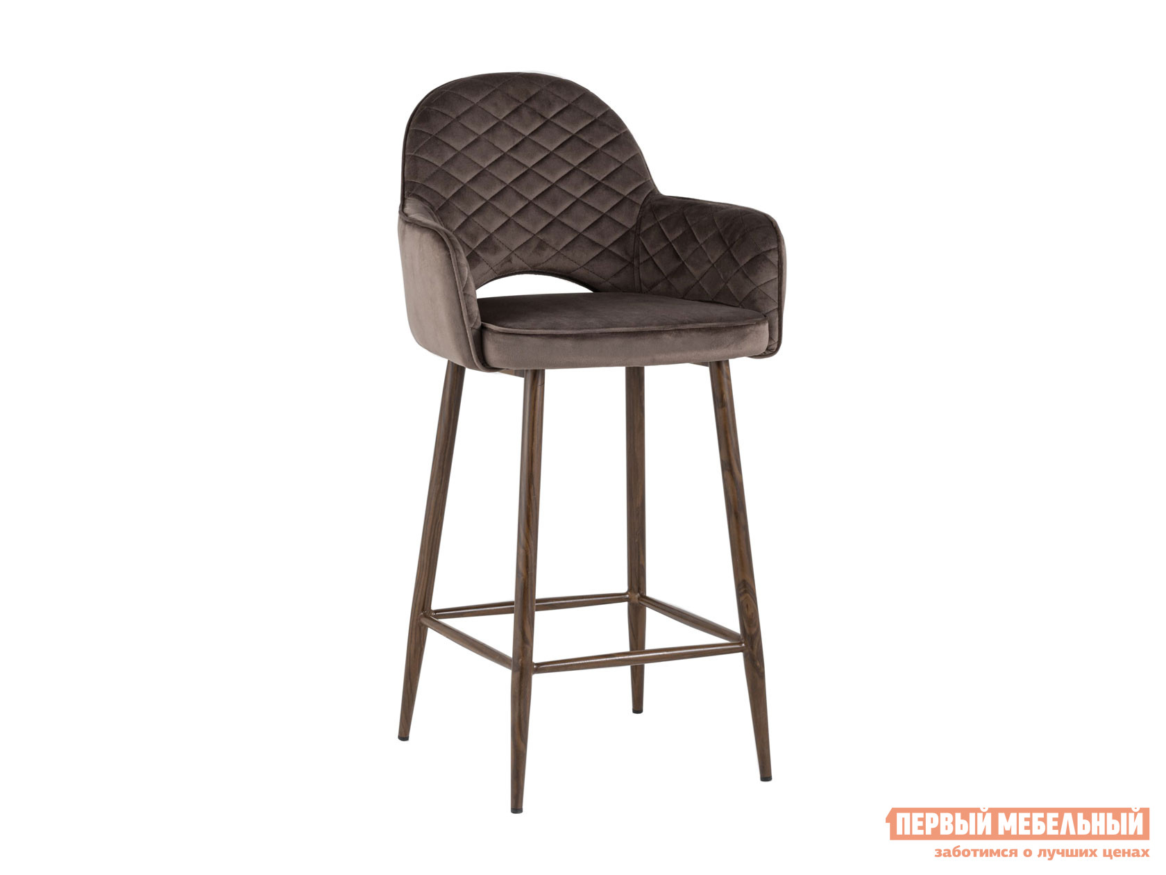 Барный стул  полубарный Венера Коричневый, велюр Stool Group 119938