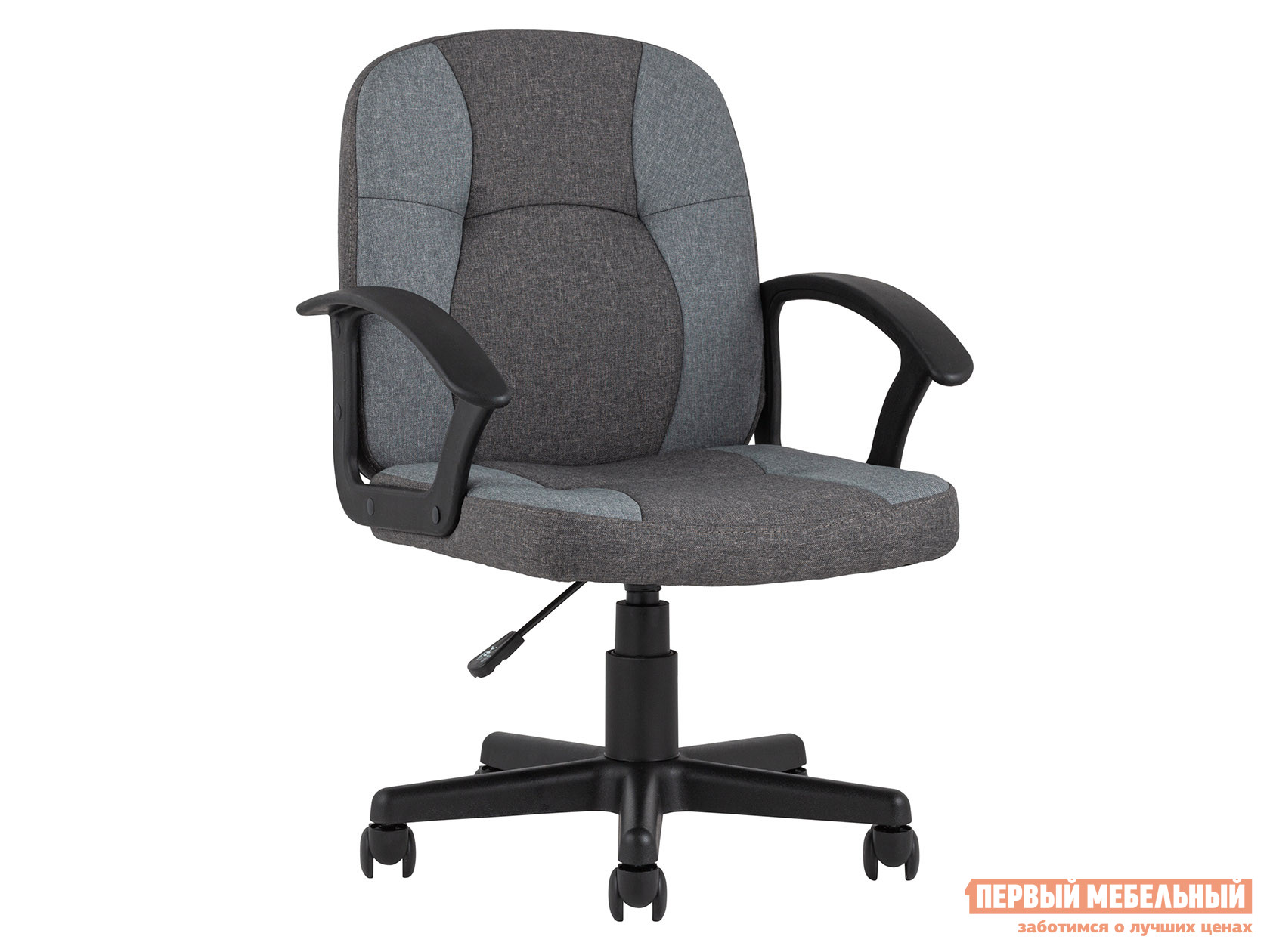 Офисное кресло  TopChairs Comfort Серый, ткань / STOOL GROUP 105254