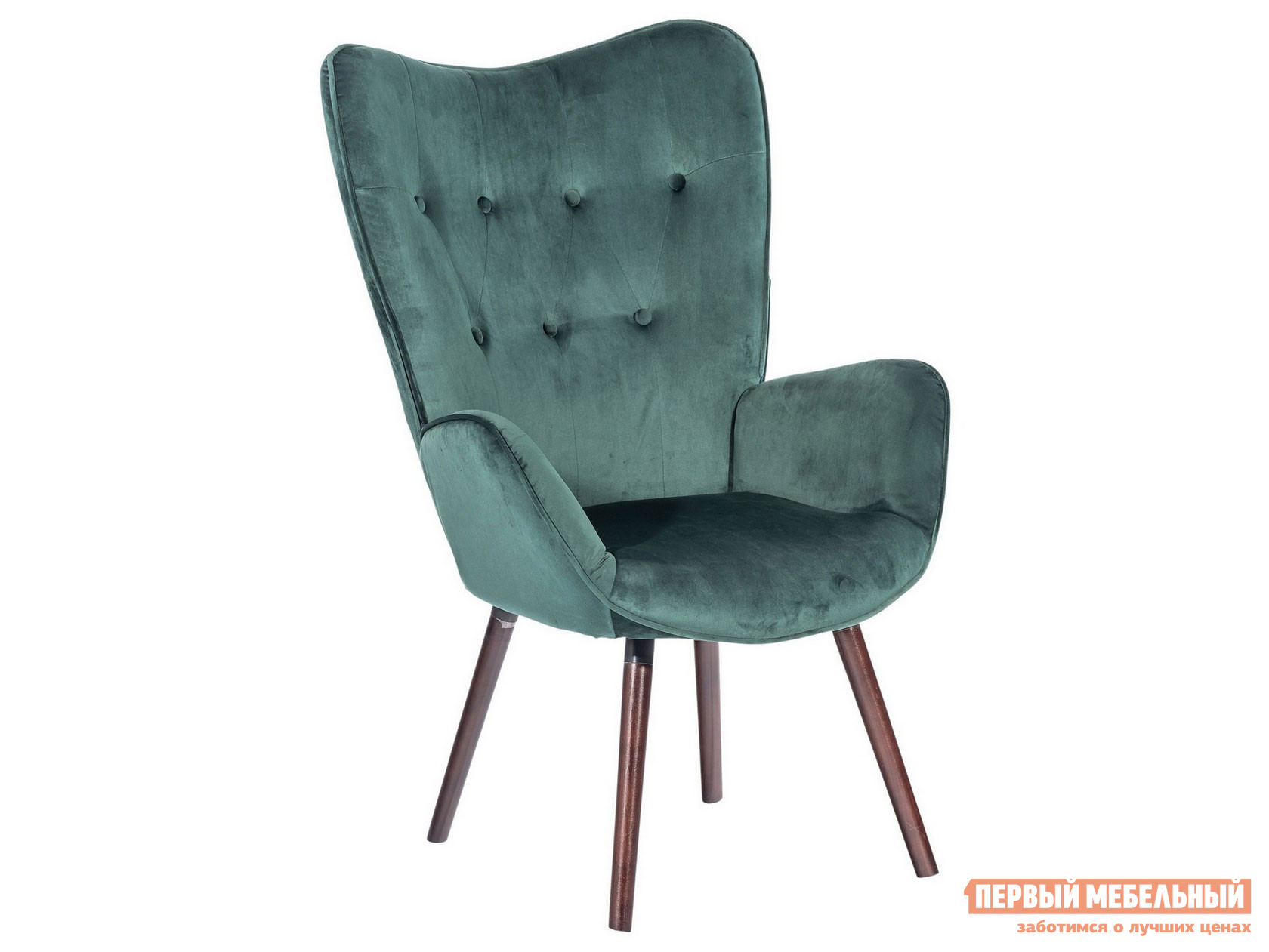 Стул Stool Group KAS VELVET GREEN/GREY