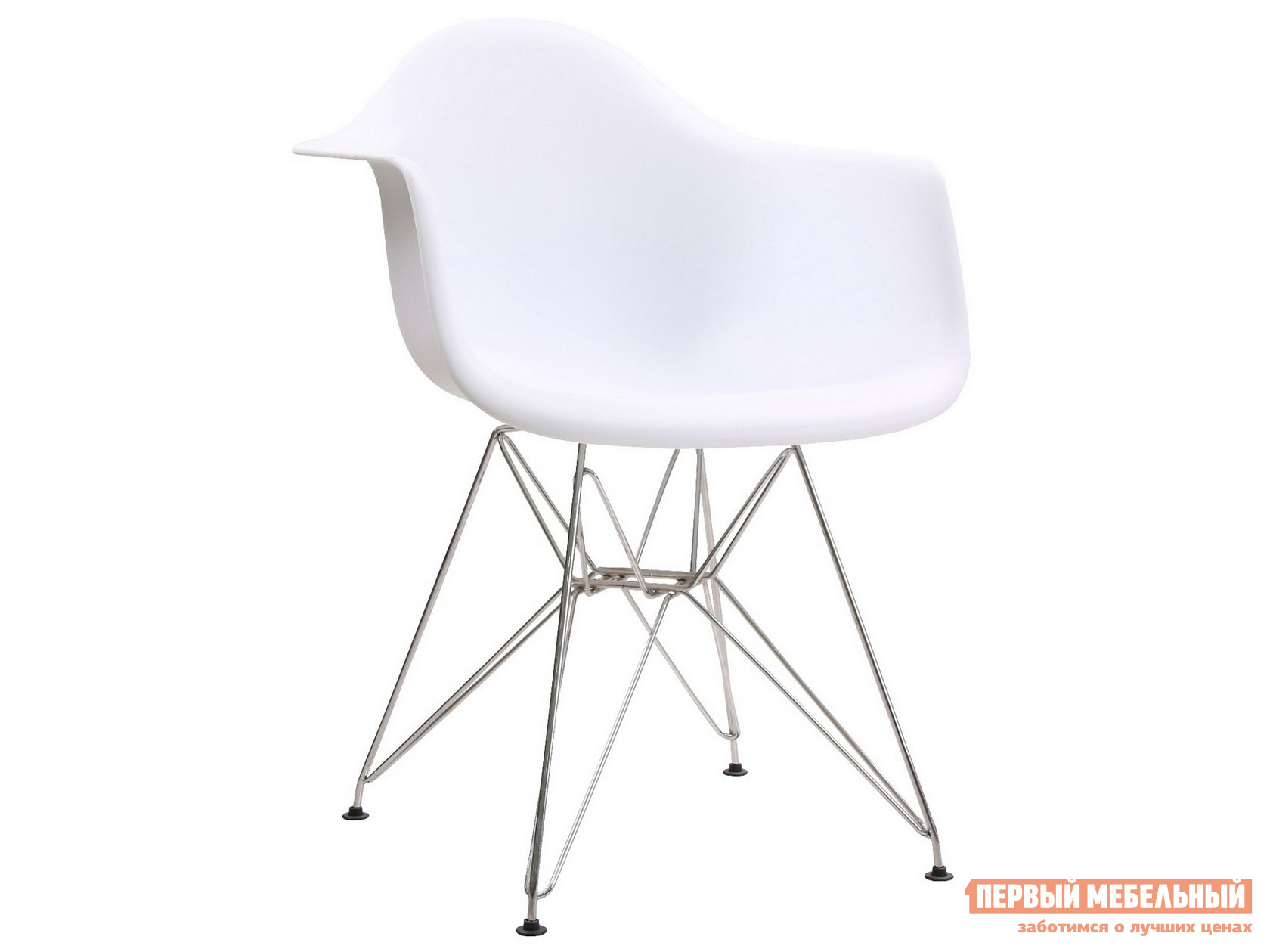 Стул Eames DAR Белый фото