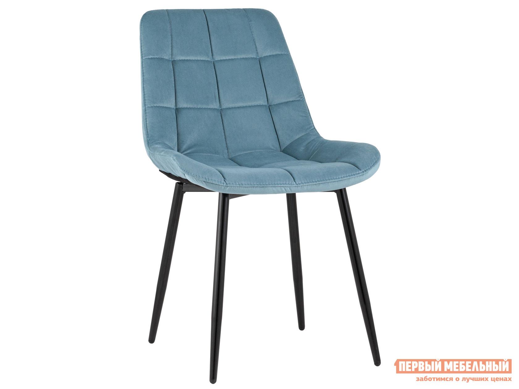 Стул  Флекс велюр Пыльно-голубой, / Черный, металл STOOL GROUP 119472