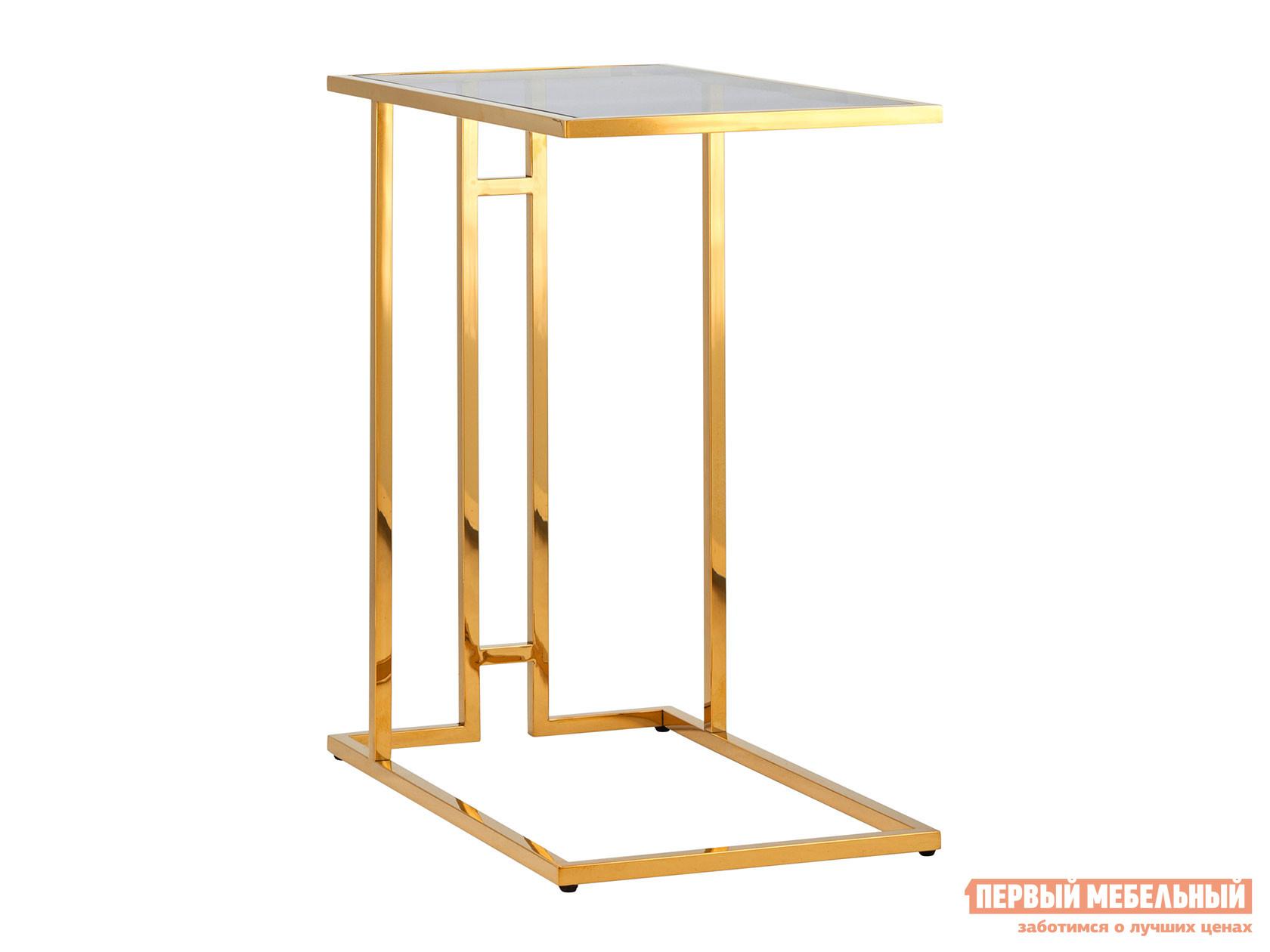 Журнальный столик  EET-061 Темное стекло / Сталь, золото STOOL GROUP 102571