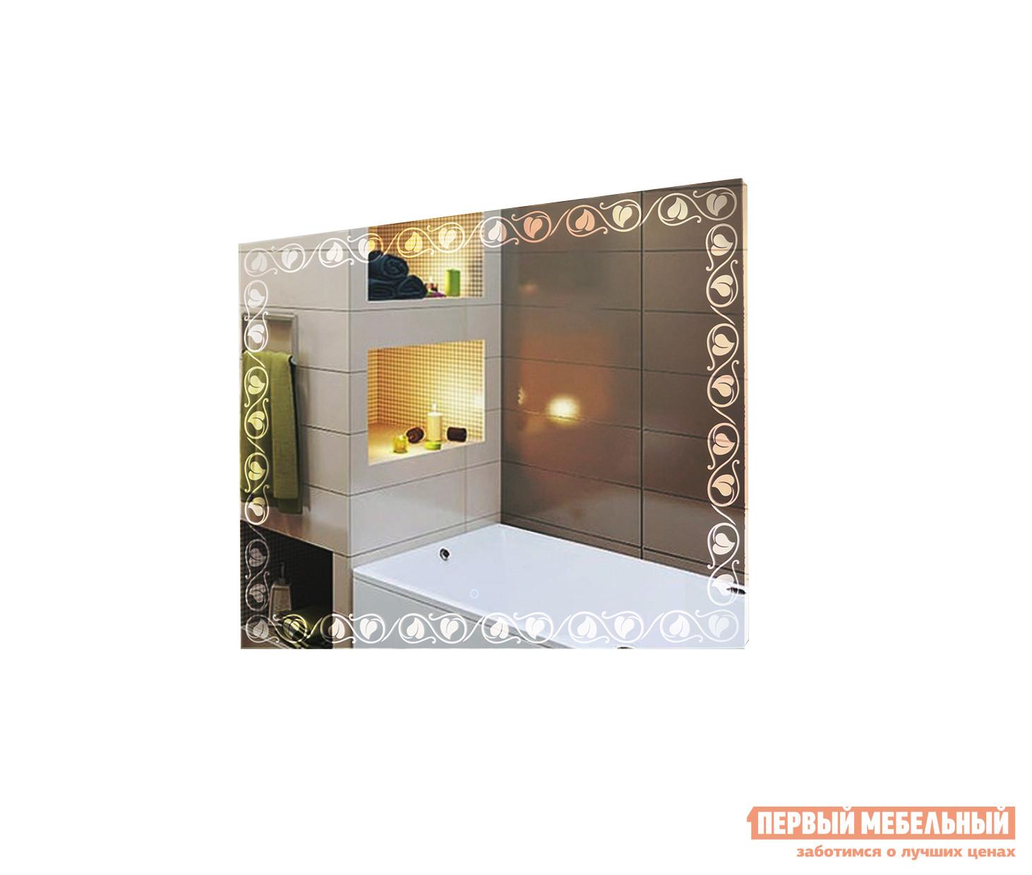 Фото Настенное зеркало Континент ЗЛП87 Vichy LED 915x685