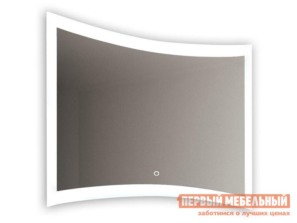 Настенное зеркало  Silence LED c подсветкой ЗЛП457 Белый