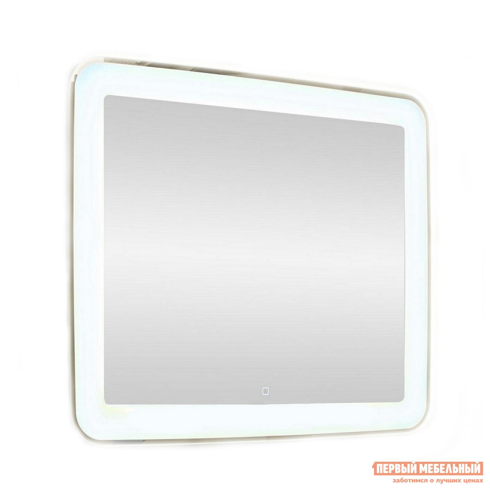 Настенное зеркало  Зеркало ЗЛП83 Velvette LED 915х685 Белый, С сенсорным выключателем, С функцией антизапотевания