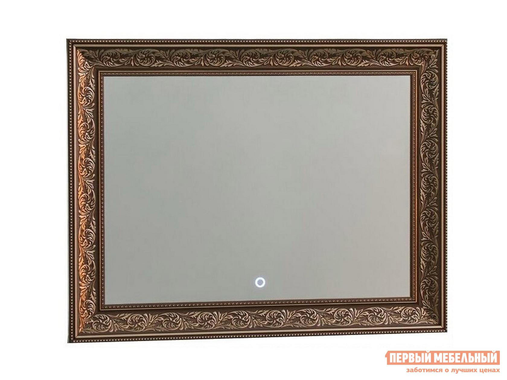Настенное зеркало Континент Зеркало ЗЛП31 Prestige LED 830х640