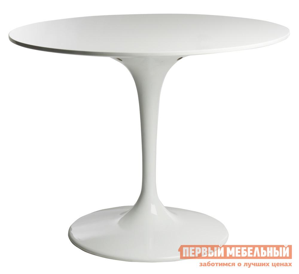 Обеденный стол Scott Howard Eero Saarinen Style Tulip Table MDF белый Пластик белый, Диаметр 120