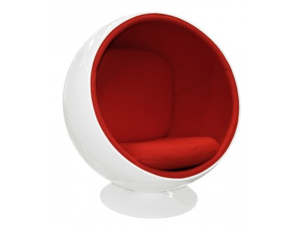 Кресло Eero Aarnio Style Ball Chair Арнио Стайл [Кашемир красный]
