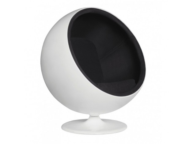 Кресло Eero Aarnio Style Ball Chair Арнио Стайл фото 3 — Кашемир черный