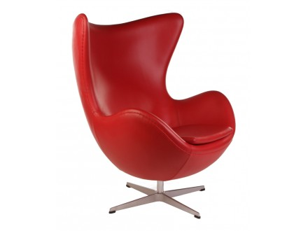 Мягкое кресло Arne Jacobsen Style Egg Chair Premium Якобсен Эгг