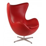 Кресло Arne Jacobsen Style Egg Chair Premium Якобсен Эгг
