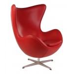 Мягкое кресло Arne Jacobsen Style Egg Chair Premium Якобсен Эгг