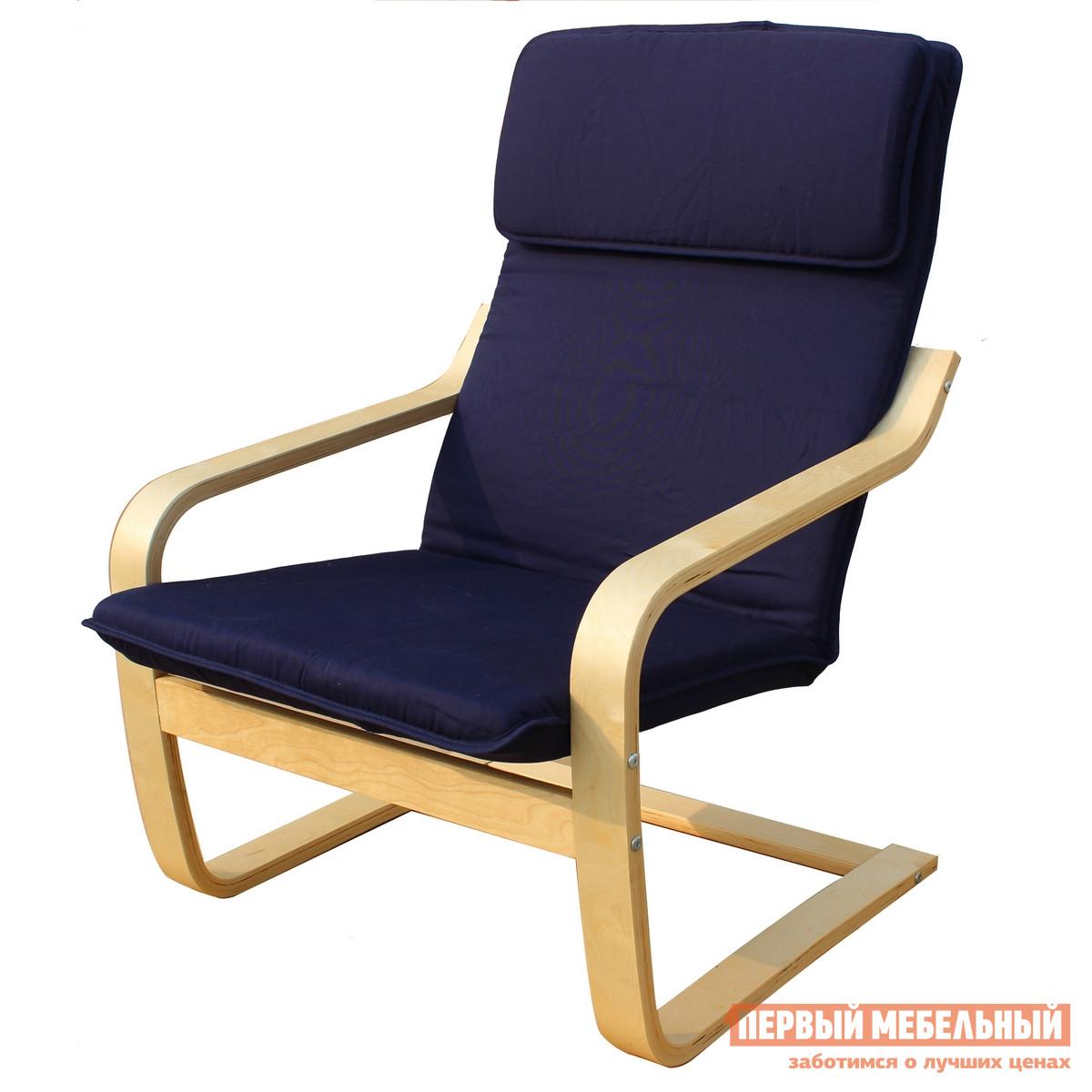Кресло-качалка Ariva ARIVA-P1Red; Blue; Brown; Coffee; Natur (54135; 54136; 54137; 54138; 54139) Синяя тканьКресла-качалки<br>Габаритные размеры ВхШхГ 950x680x630 мм. Абсолютный комфорт и удобство вы приобретете вместе этим креслом-качалкой.  Его конструкция продумана таким образом, чтобы обеспечить мягкое и плавное покачивание без лишнего заваливания назад.  Такое кресло идеально подойдет для тех, кто хочет полностью расслабиться, его равномерные движения успокаивают и способствуют улучшению настроения. Мягкая подушка-подголовник разгрузит напряженные мышцы шеи и спины.  Натуральная хлопковая обивка и наполнитель из холофайбера обеспечат приятные тактильные ощущения. Ненавязчивый, элегантный дизайн позволит вам разместить данную модель совершенно в любом интерьере.  Изогнутые ножки выполнены из массива сосны.  Кресло выдерживает нагрузку до 95 кг.  Высота от пола до сиденья — 330 мм.<br><br>Цвет: Синяя ткань<br>Цвет: Синий<br>Высота мм: 950<br>Ширина мм: 680<br>Глубина мм: 630<br>Форма поставки: В разобранном виде<br>Срок гарантии: 1 год<br>Тип: Качалка<br>Материал: Деревянные, из ткани, Из натурального дерева<br>Порода дерева: из сосны<br>Особенности: С подлокотниками, С мягким сиденьем