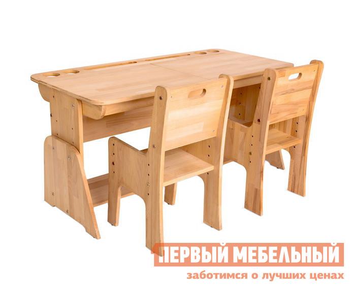 Парта с двумя стульями Партаторг С412+С330 (2 шт.)