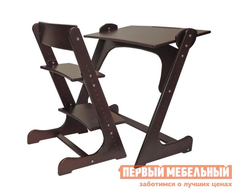 Парта со стулом Партаторг Регулируемая парта + растущий стул comf pro растущий ортопедический стул для школьника goethe гёте