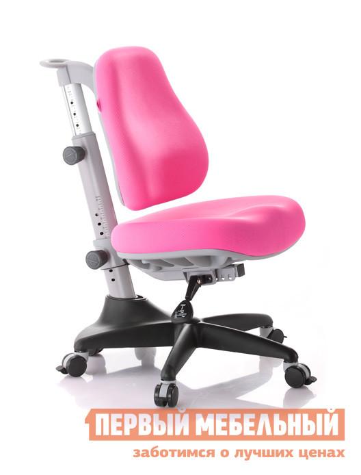 Компьютерное кресло Comf-pro Match Y518 РозовыйКомпьютерные кресла детские<br>Габаритные размеры ВхШхГ 890x600x550 мм. Детское компьютерное кресло Match Y518 растет вместе с вашим ребенком и может использоваться вплоть до окончания школы.  Данная модель отвечает всем параметрам эргономики для развивающегося организма ребенка.  Подходит для детей ростом от 120 до 190 см. Анатомический рельеф спинки повторяет S-образную форму позвоночника ребенка.  Сиденье регулируется по высоте, а также по наклону относительно основания.  Сиденье имеет форму с выделенными линиями бедер, что позволяет добиться максимального контакта спины ребенка со спинкой стула.  Помимо регулировки по высоте, сиденье имеет возможность настраиваться по глубине.  Черная литая крестовина надежно защитит вашего ребенка от опрокидывания.  Благодаря отсутствию газ патрона кресло не вращается вокруг своей оси, что позволяет использовать его в качестве стула, а не как игрушку.  Двойные ролики блокируются при минимальной нагрузке в 25 кг. Ширина сиденья — 450 мм.  Глубина настраивается в диапазоне от 300 до 390 мм. Высота от пола до сиденья 360/540 мм. Максимальная нагрузка на кресло составляет 100 кг. Наполнитель для сиденья и спинки — формированный полиуретан высокой вязкости, хорошо держит форму и умеренно мягкий.  Обивка — перфорированный сетчатый дышащий материал.<br><br>Цвет: Розовый<br>Высота мм: 890<br>Ширина мм: 600<br>Глубина мм: 550<br>Кол-во упаковок: 1<br>Форма поставки: В разобранном виде<br>Срок гарантии: 5 лет<br>Тип: До 80 кг<br>Тип: До 100 кг<br>Тип: До 90 кг<br>Тип: Регулируемые по высоте<br>Назначение: Для дома<br>Назначение: Для школьников<br>Материал: Ткань<br>Эргономичные: Да<br>На колесиках: Да<br>С мягким сиденьем: Да<br>Пластиковая крестовина: Да<br>Без подлокотников: Да<br>С блокировкой колес: Да<br>С высокой спинкой: Да<br>Пол: Для девочек<br>Пол: Для мальчиков