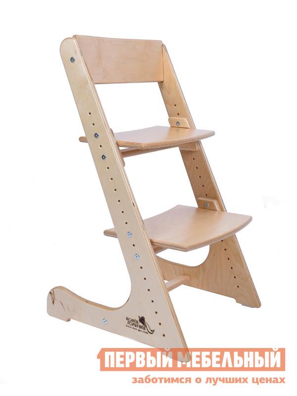 Детский стул Конёк-Горбунёк Детский растущий стул Береза (без лака)
