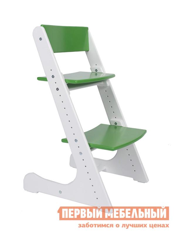 Детский стул  Детский растущий стул Бело-зеленый