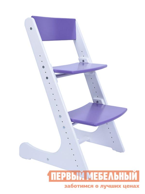 Детский стул Конёк-Горбунёк Детский растущий стул Бело-сиреневый