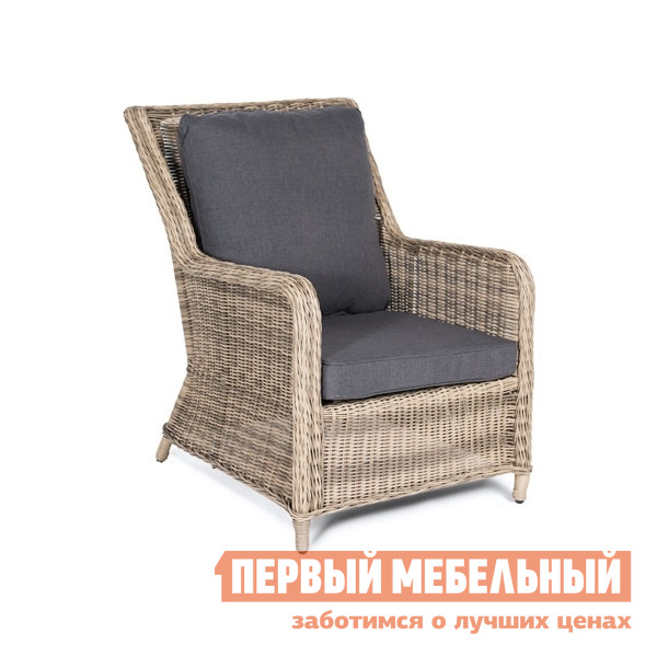 Плетеное кресло Кватросис Гляссе YH-C1579W-2 плетеный стол кватросис бергамо yh s4684p 2