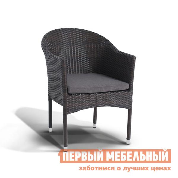 Плетеное кресло  Фраппе YH-C1728W Коричневый