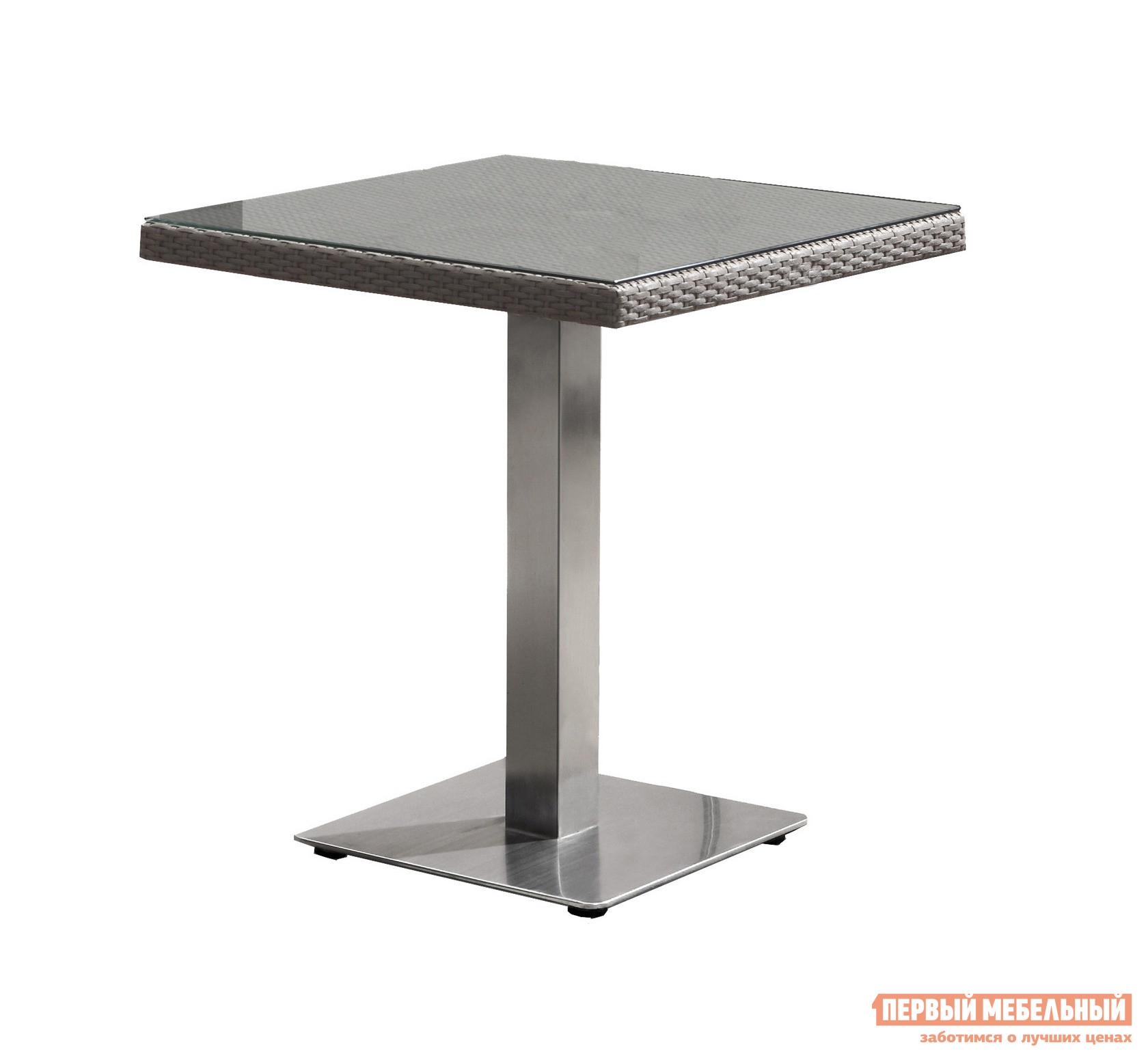 Плетеный стол Кватросис Компания 805273 плетеный стол кватросис бергамо yh s4684p 2