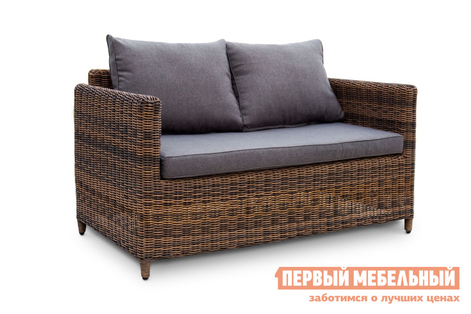Плетеный диван Кватросис YH-C2004W-1 плетеный стол кватросис бергамо yh s4684p 2