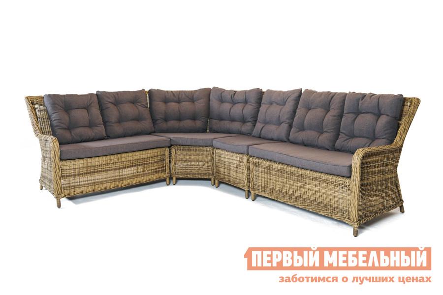где купить Плетеный диван Кватросис  МОДУЛЬНАЯ МЯГКАЯ ЗОНА БЕРГАМО по лучшей цене