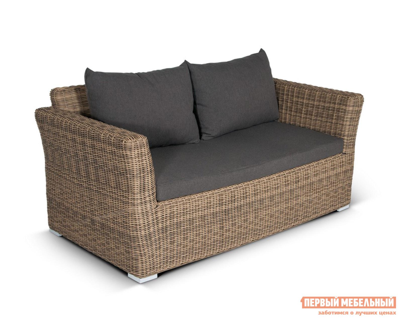 Плетеный диван Кватросис YH-C2130W-3 плетеный стол кватросис бергамо yh s4684p 2