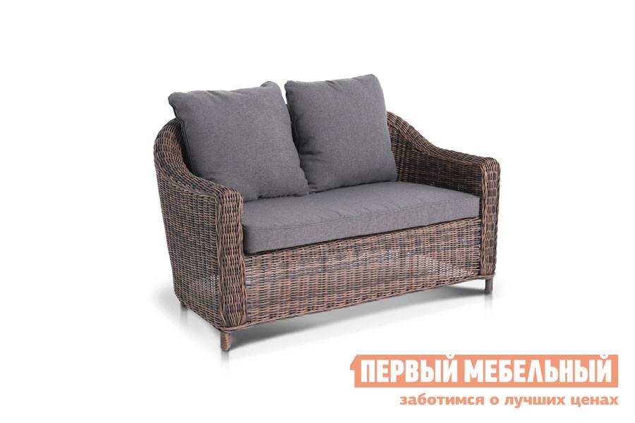 Плетёный диван 4sis YH-C2808W Коричневый от Купистол