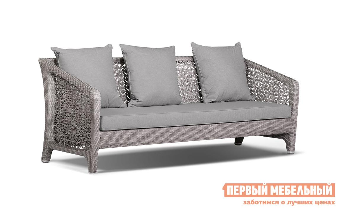 где купить Плетеный диван для дачи Кватросис Лабро A059E2 по лучшей цене