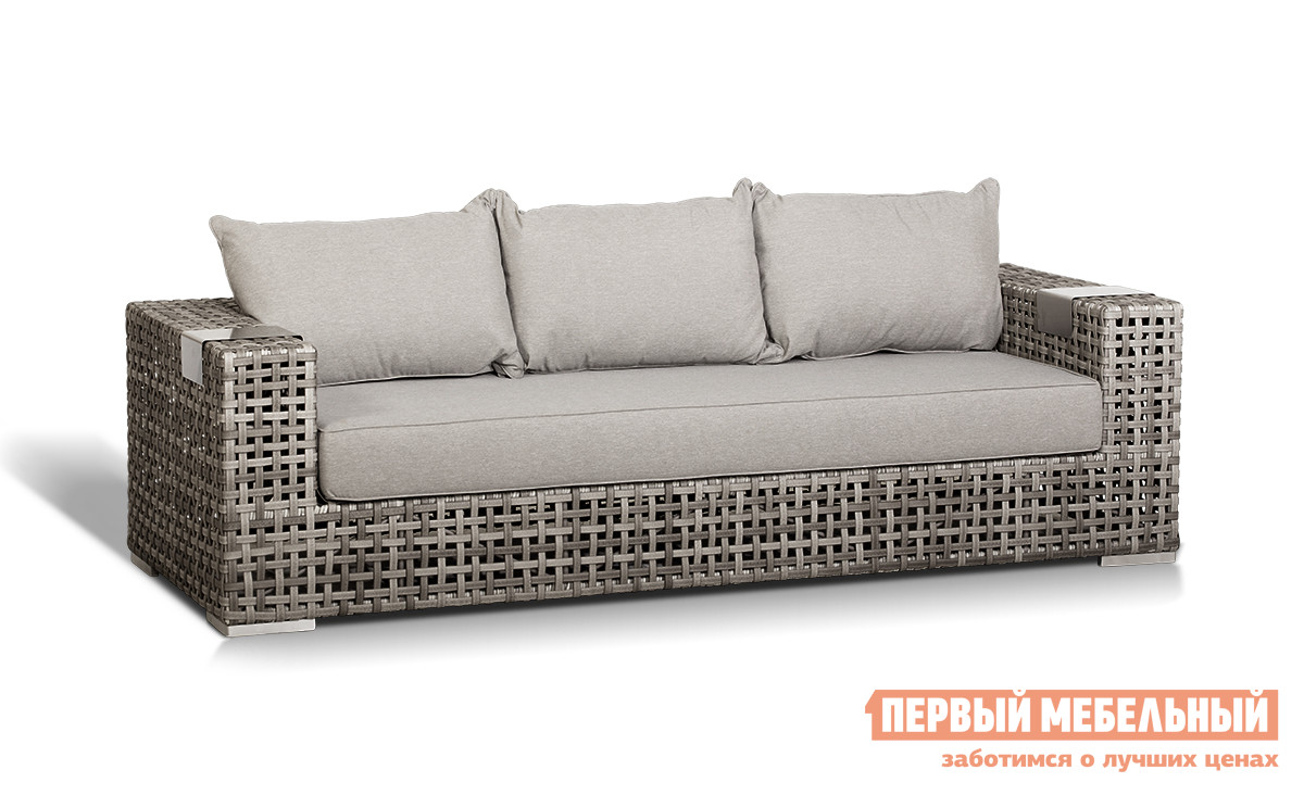 Плетеный дачный диван Кватросис Тито А096Е цены онлайн