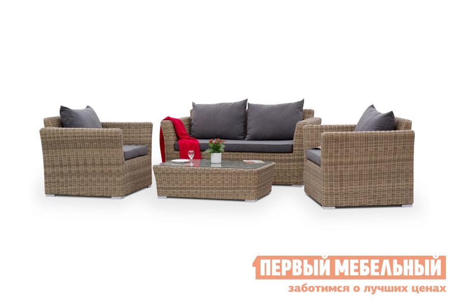 Фото - Комплект плетеной мебели Кватросис YH-C2130W-3, YH-C1130W-3, YH-S4133W пинцет yihua yh t2 15