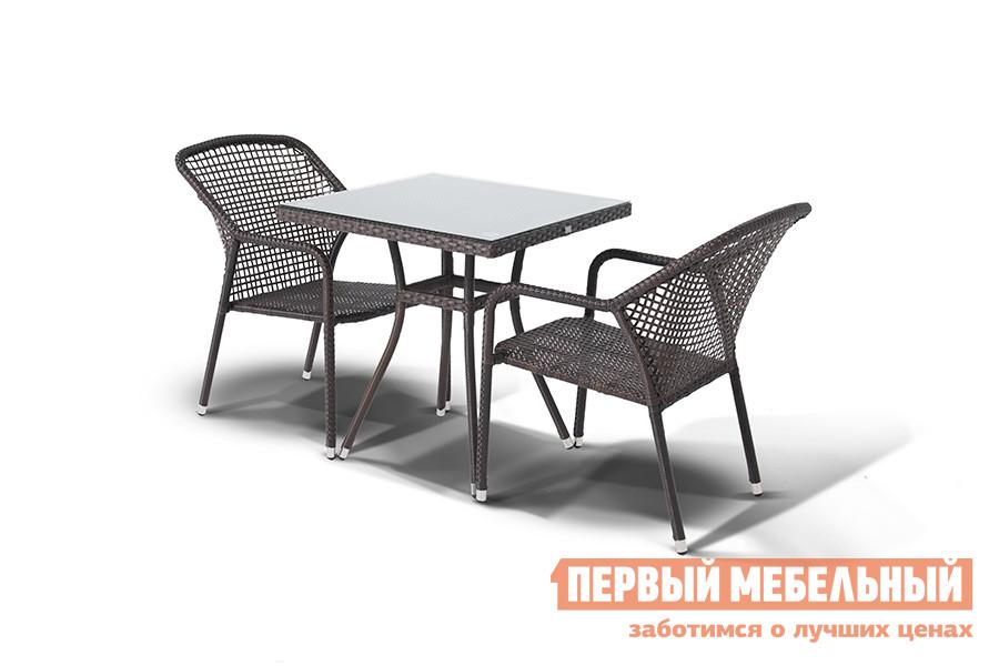 Комплект плетеной мебели Кватросис Корто, обеденная группа аккумуляторная дрель шуруповерт bosch gsr 12v 15 fc 0 601 9f6 001