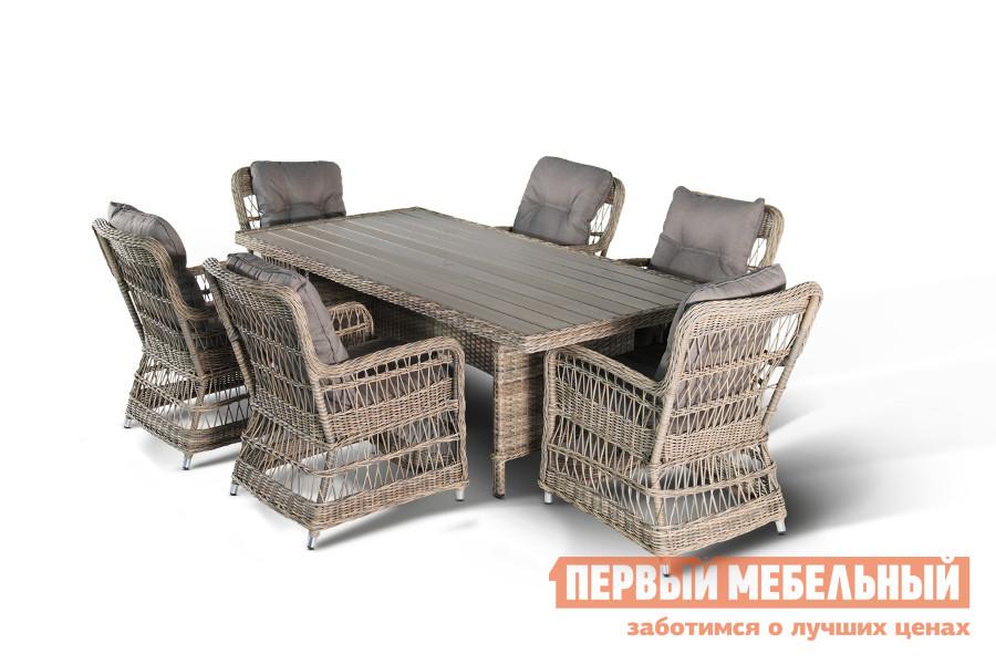 Комплект плетеной мебели Кватросис Цесена цена 2017