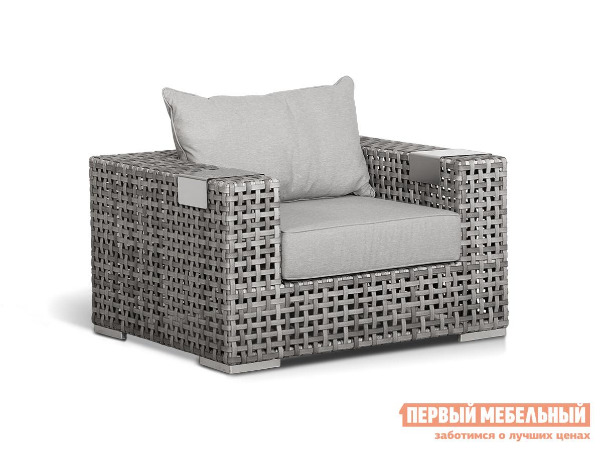 Плетеное кресло с мягким сиденьем Кватросис Тито А096А цена