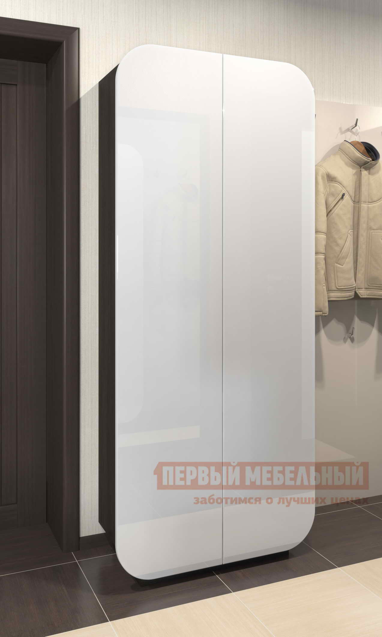 Шкаф распашной Мебелеф Шкаф «Мебелеф-4» комод мебелеф комод мебелеф 48