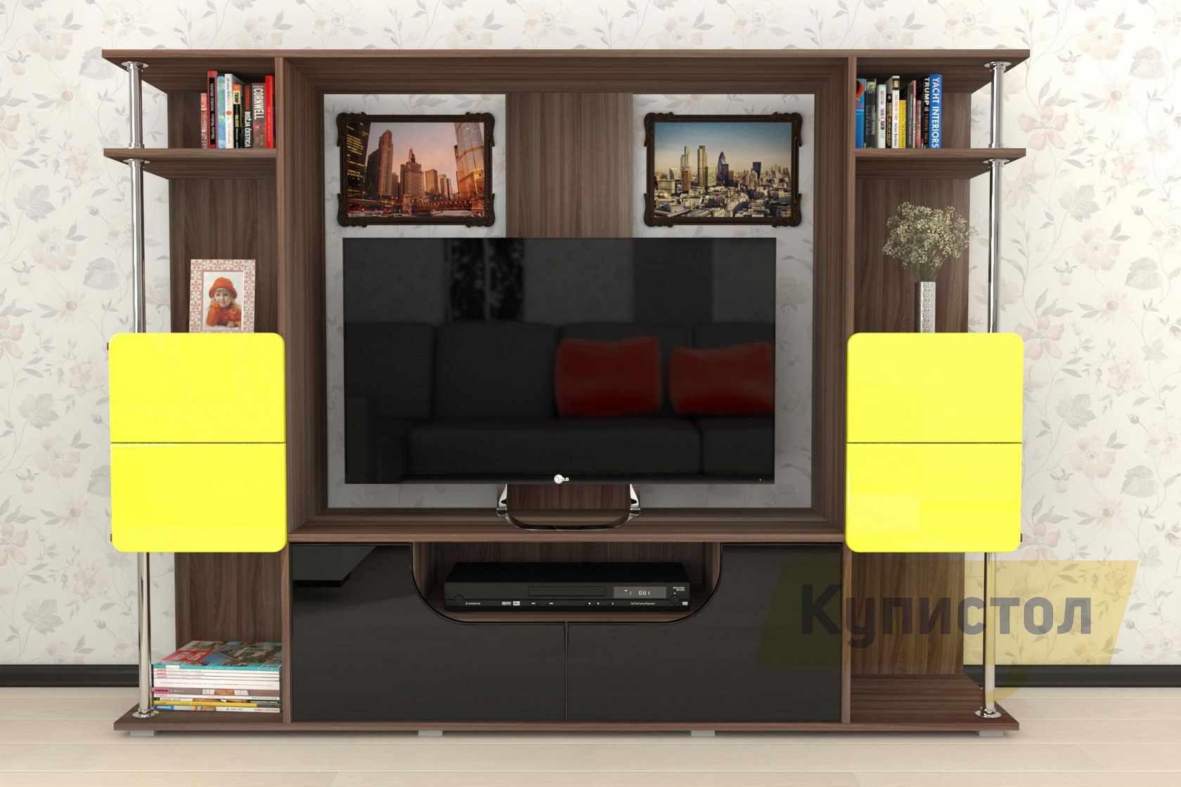 Стенка Мебелеф Стенка для гостиной «Мебелеф-7» стенка мебелеф 5