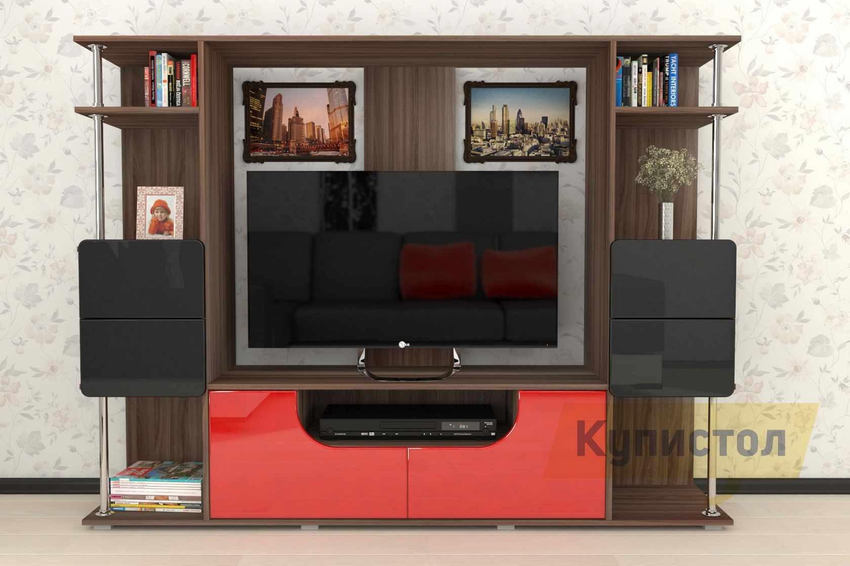 Стенка пенелопа-7 мебелеф купить в москве и спб в интернет-м.