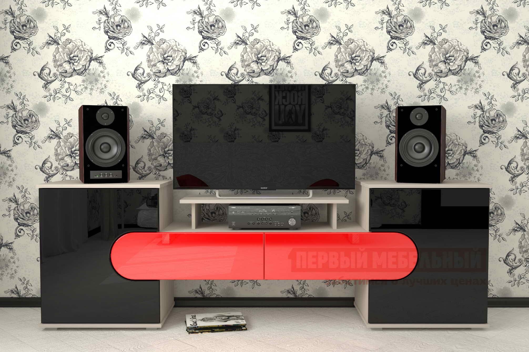 Тумба под телевизор Мебелеф Тумба под ТВ «Мебелеф-5» тумба под телевизор bell o pvs 4206hg