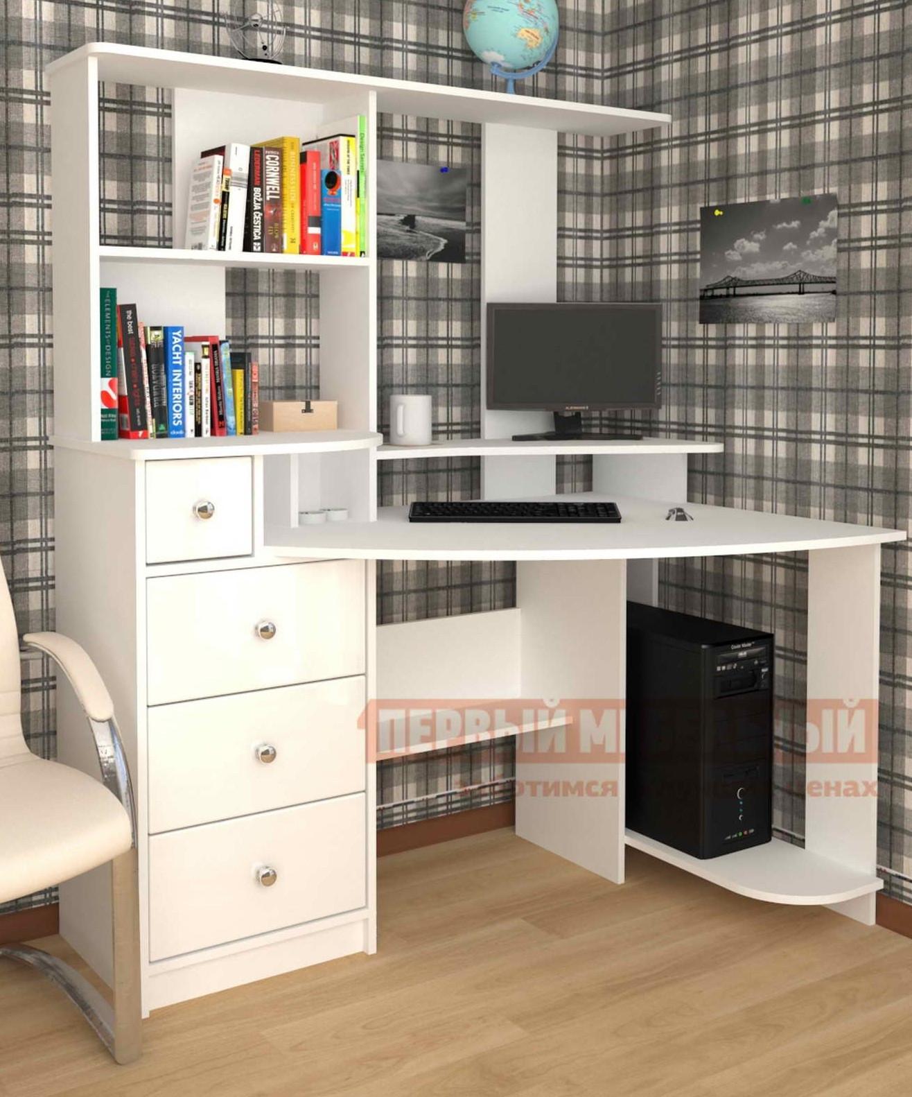Компьютерный стол Мебелеф Мебелеф-6 компьютерный стол мебелеф мебелеф 6