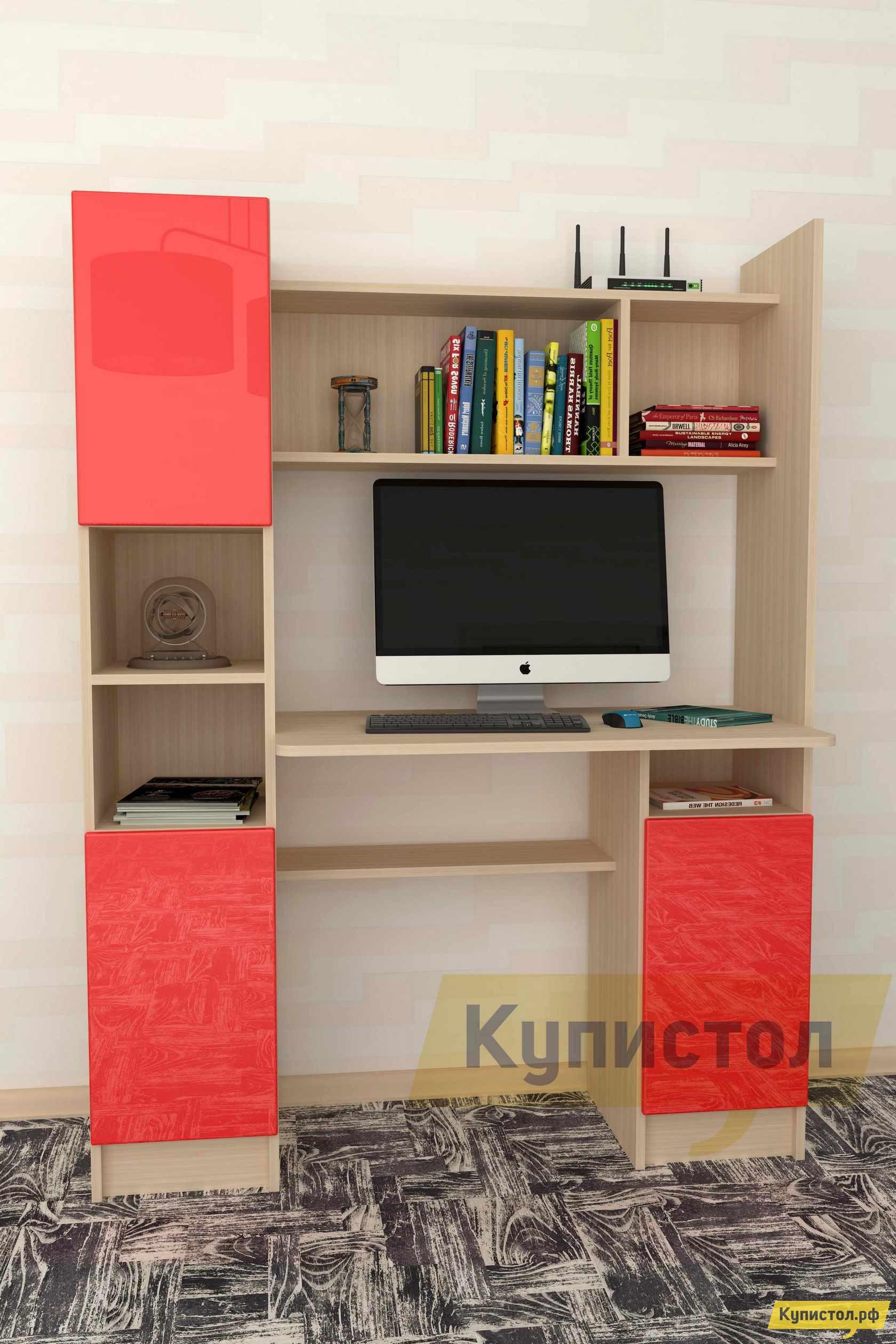 Компьютерный стол Мебелеф Компьютерный стол «Мебелеф-20» 21 х2 гост 21744 83 купить в барнауле