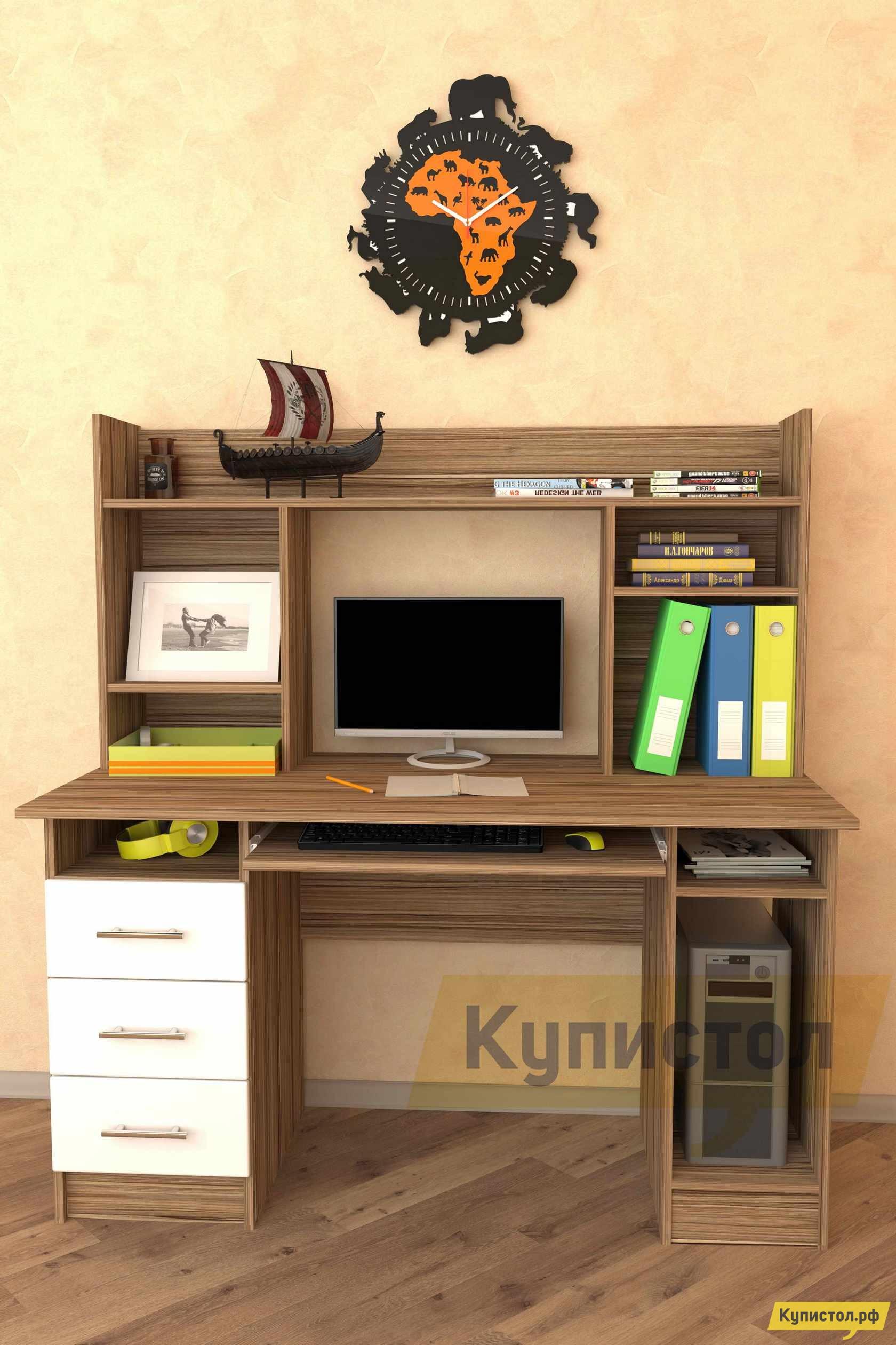 Компьютерный стол Мебелеф Компьютерный стол «Мебелеф-34»