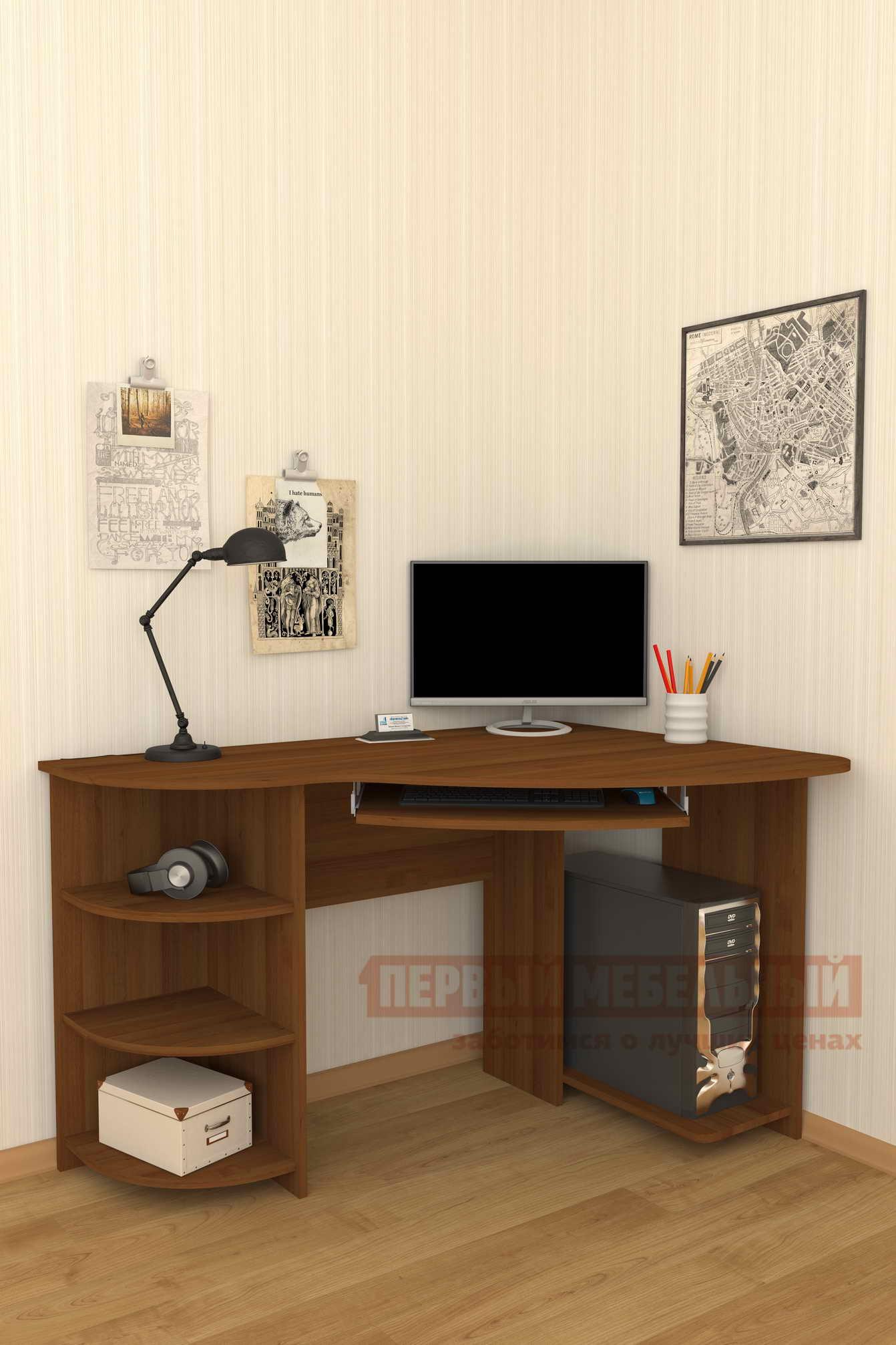 Компьютерный стол Мебелеф Мебелеф-18 компьютерный стол мебелеф мебелеф 18