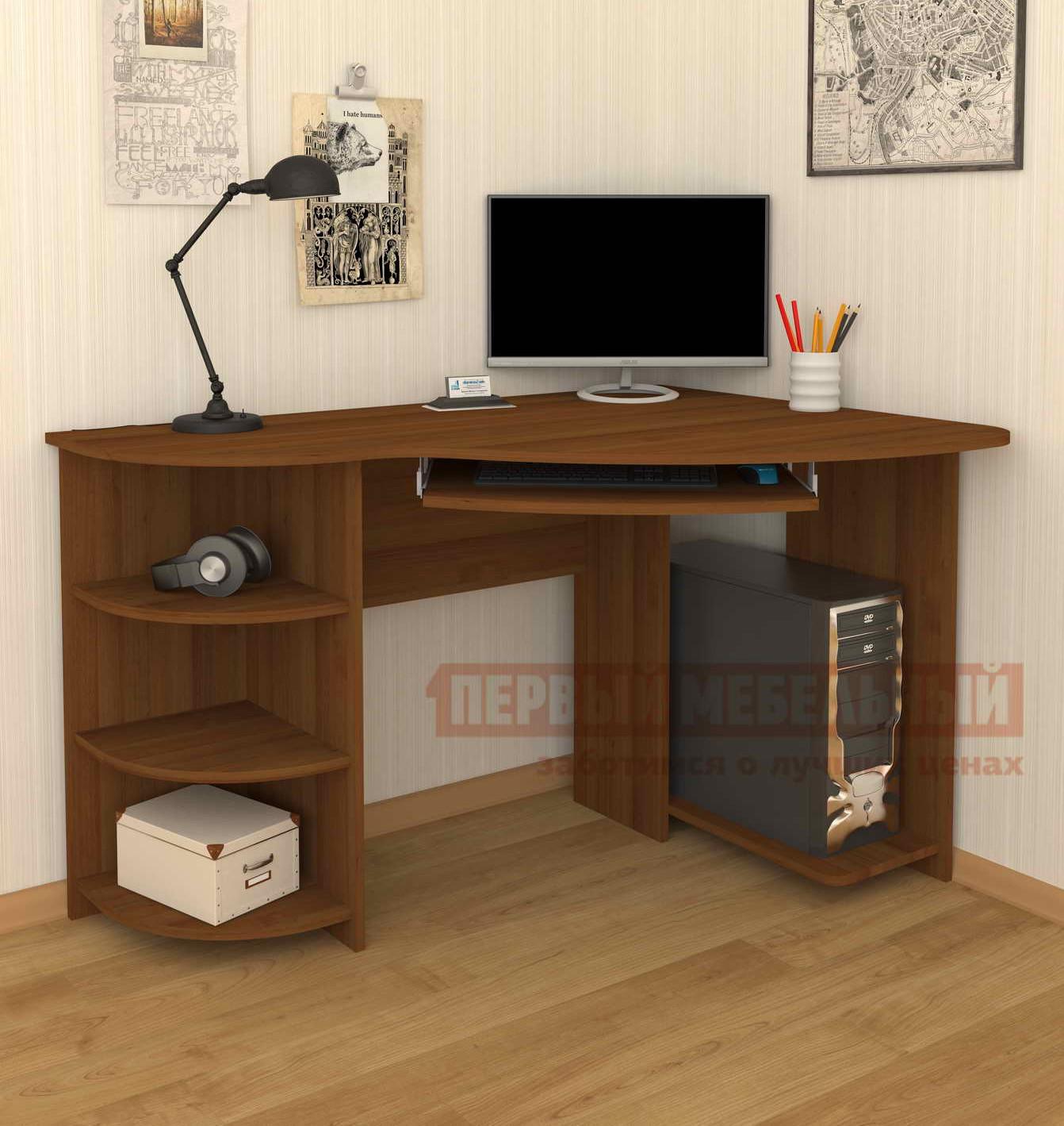Компьютерный стол Мебелеф Мебелеф-18 угловой компьютерный стол мебелеф компьютерный стол мебелеф 44