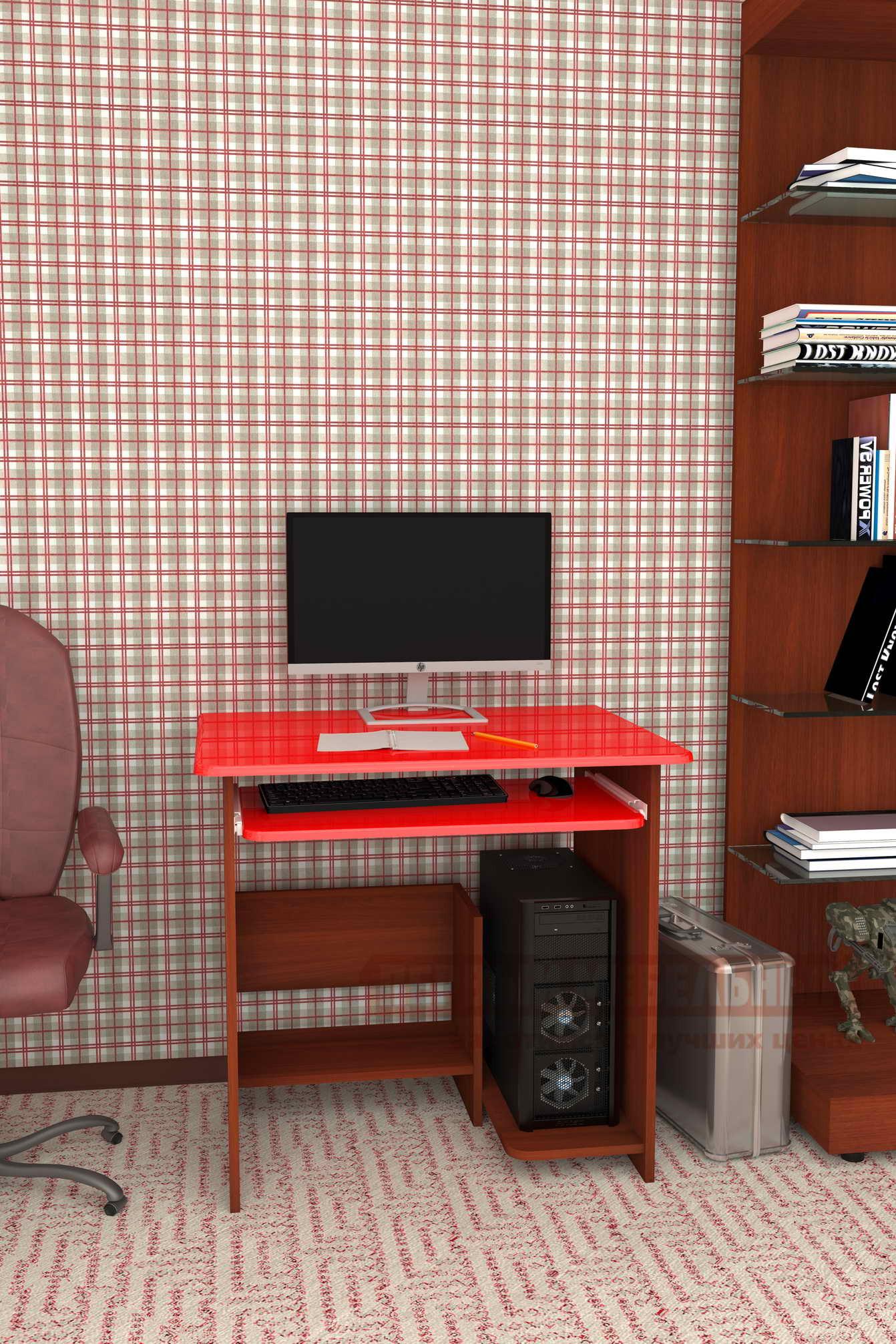 Компьютерный стол Мебелеф Мебелеф-51 угловой компьютерный стол мебелеф компьютерный стол мебелеф 44